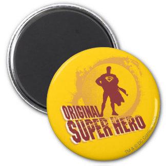 De Originele Super Held van de superman Ronde Magneet 5,7 Cm