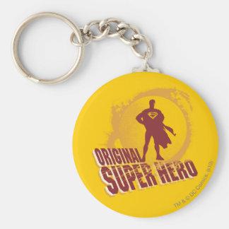 De Originele Super Held van de superman Sleutelhanger