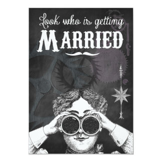 De originele Uitnodigingen van het Huwelijk van