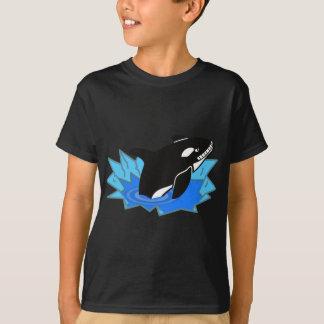 De Orka/de Orka die van de cartoon uit het Water T Shirt