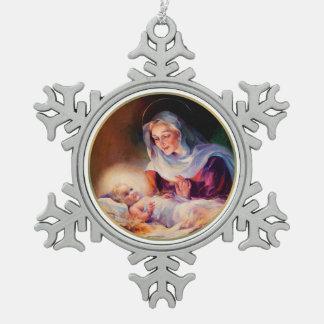 De Ornamenten van de Sneeuwvlok van Kerstmis van M