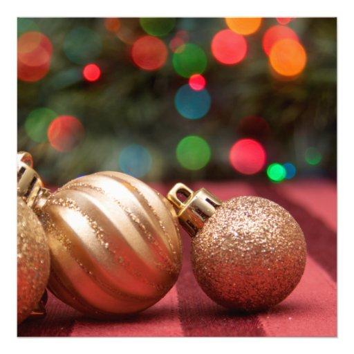 De Ornamenten van Kerstmis Foto Prints