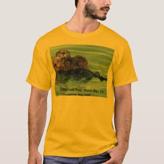 De Otter van het zee met Jong, Morro Baai, CA T Shirt