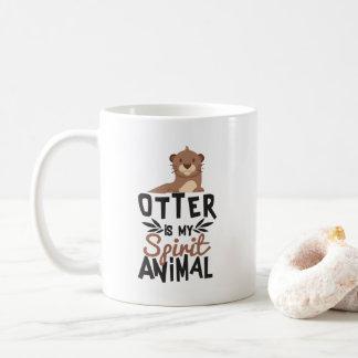De Otter van Nice is Mijn Dierlijke Druk van de Koffiemok