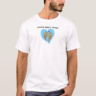 De Otters van het zee in Liefde T Shirt
