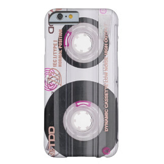 De oude band van de schoolcassette barely there iPhone 6 hoesje
