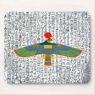 De oude Egyptische Havik Mousepad van Horus van de Muismat