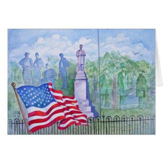 De oude Golven van de Glorie voor Vrijheid Briefkaarten 0