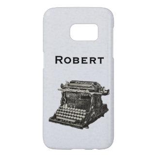 De Oude HandSchrijfmachine van de vintage Samsung Galaxy S7 Hoesje