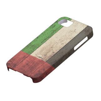 De oude Houten Verenigde Arabische Vlag van Emirat Barely There iPhone 5 Hoesje