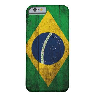 De oude Houten Vlag van Brazilië Barely There iPhone 6 Hoesje