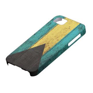 De oude Houten Vlag van de Bahamas Barely There iPhone 5 Hoesje