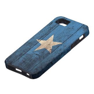 De oude Houten Vlag van Somalië Tough iPhone 5 Hoesje