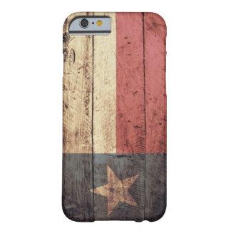 De oude Houten Vlag van Texas;
