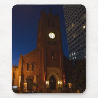 De oude Kathedraal Mousepad van Heilige Mary Muismat