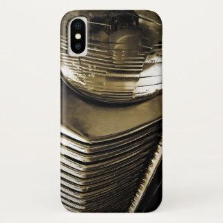 De oude Klassieke Koplamp van de Auto iPhone X Hoesje
