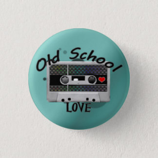 De oude Liefde van de School Ronde Button 3,2 Cm