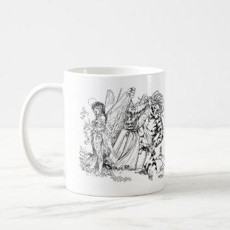 De oude Magische Ellende van de School in de Koffiemok