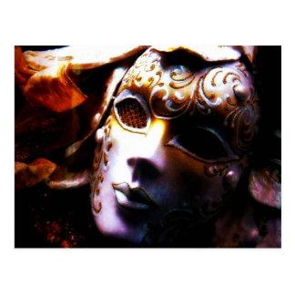 De oude Maskerade van de Tijd Briefkaart