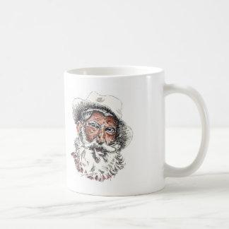 De oude Mok van de Koffie van het Man