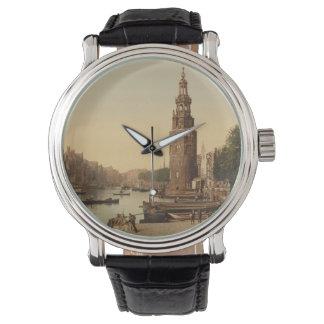 DE Oude Schans, Amsterdam, Nederland Horloges