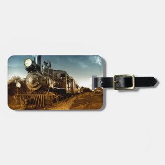De oude Spoorweg van de Tijd Kofferlabel
