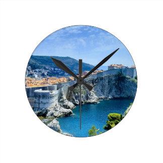 De Oude Stad van Dubrovnik Ronde Klok