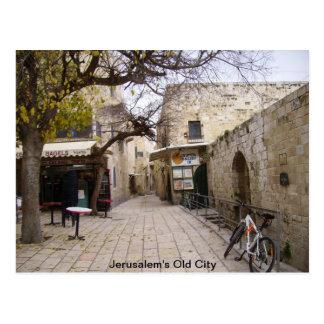 De Oude Stad van Jeruzalem Briefkaart