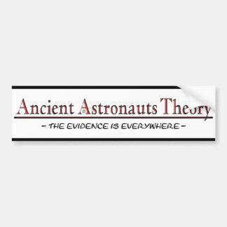 De oude Sticker van de Bumper van de Theorie van A