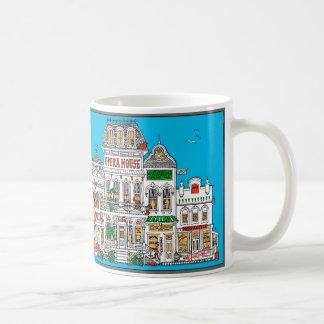 De oude Straat van de Grens van het Westen Koffiemok
