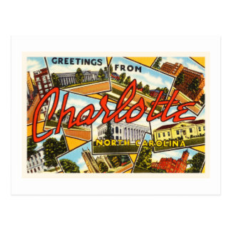 De Oude Vintage Prentbriefkaar van Charlotte Briefkaart