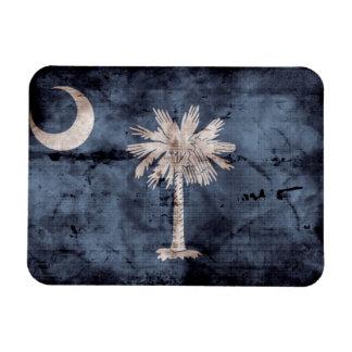 De oude Vlag Zuid- van Carolina; Magneet