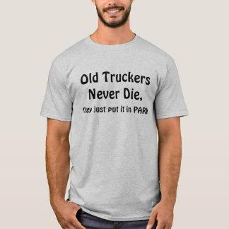 De oude Vrachtwagenchauffeurs gekscheren T Shirt