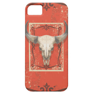 De oude Westerne Schedel van de Koe Barely There iPhone 5 Hoesje