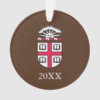 De Oudstudenten van Brown University Ornament