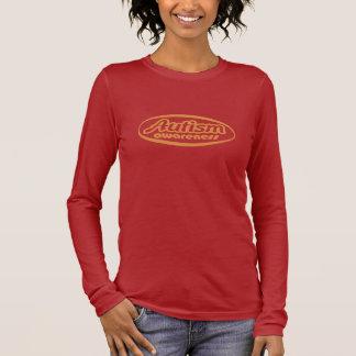 (De ovaal-Oranje) Voorlichting van het autisme T Shirts