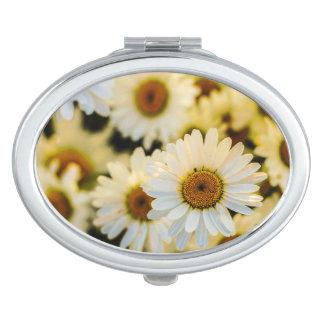 De Ovale Spiegel van madeliefjes Reisspiegeltjes