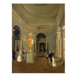 De ovale Zaal van de Oude Kluis, St Briefkaart