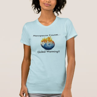 De overgang veroorzaakt het Globale Aangepast T Shirt