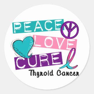 De Overhemden & de Giften van Kanker van de Ronde Sticker