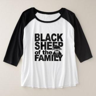 De overhemden & de jasjes van ZWART SCHAPEN Grote Maat Raglan T-shirt