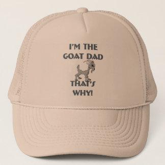 De Overhemden van de geit voor Dads Trucker Pet