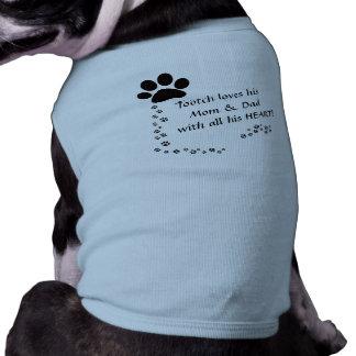 De Overhemden van de Hond van de douane T-shirt