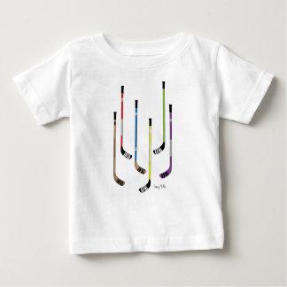 De Overhemden van het Baby van de Stokken van het Baby T Shirts