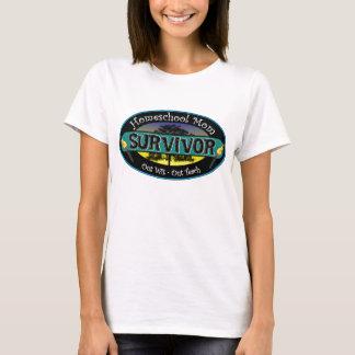 De Overlevende van het Mamma van Homeschool T Shirt