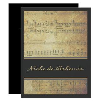 De Overweging van de muziek of de Uitnodiging van