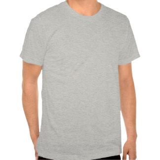 """De """"pa draagt"""" de Vintage Zwarte van de Stijl Shirt"""