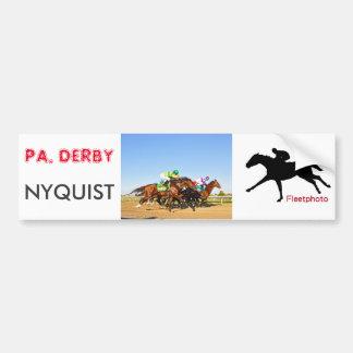 De Pa van Nyquist. Derby Bumpersticker