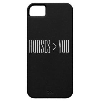 """De """"paarden > u"""" telefoneren Hoesje"""