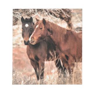 De Paarden van Nuzzling Notitieblok